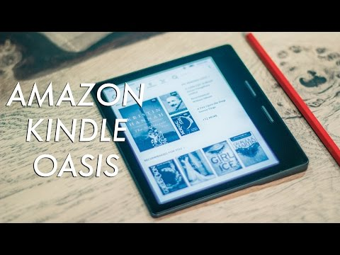Amazon's Stunning Kindle Oasis - First Look