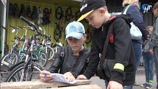Сообщество «Добрый Новгород» организовало экологический вело-квест «Город зеленого цвета»