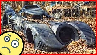 The most incredible abandoned vehicles. Batmobile, Herkimer Battle Jitney, Cadillac Miller-Meteor