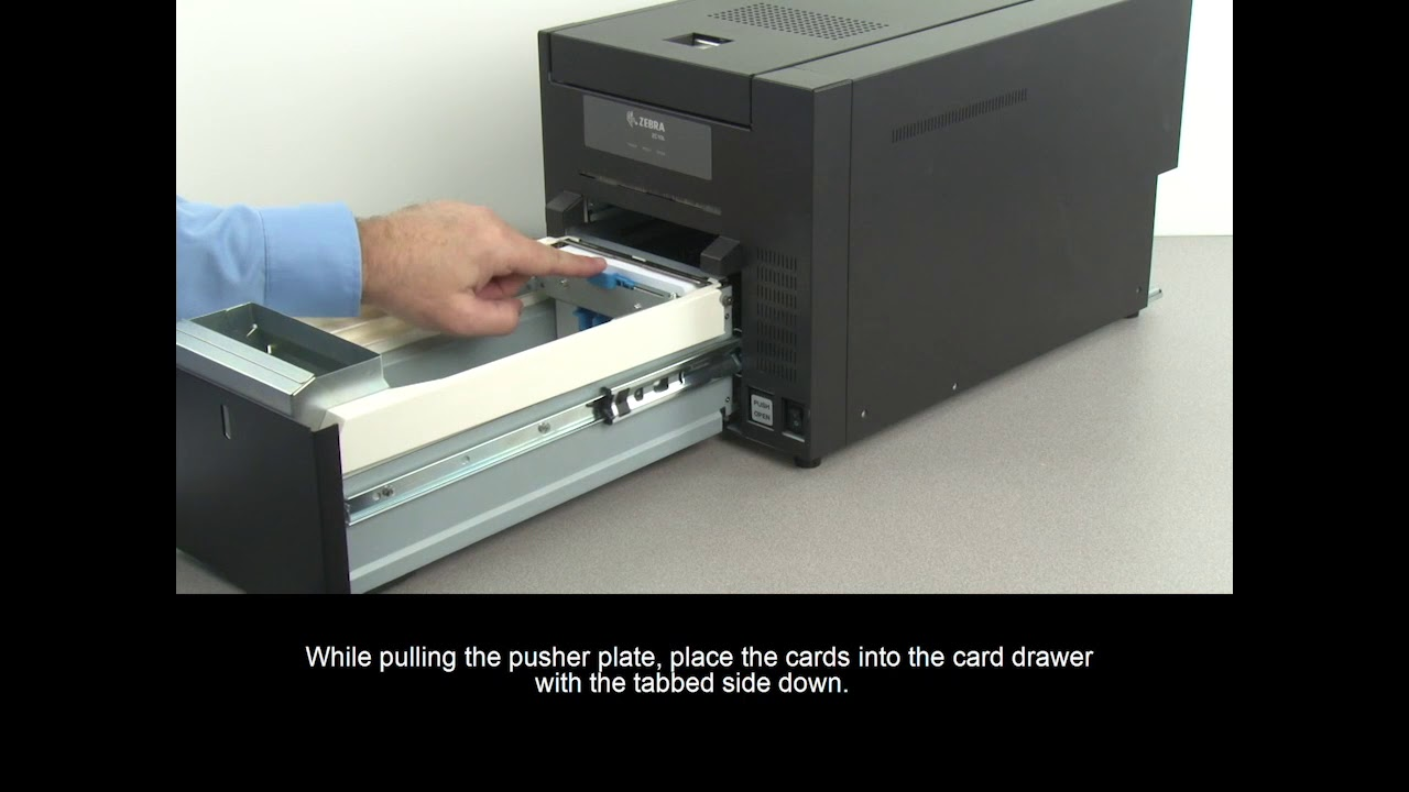 Zebra ZC10L ID Card Printer - Getting Started Guide