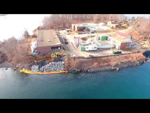 01.17.2017 - Aerial Video (Peirce Island Wastewater Treatment Facility)