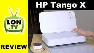 HP Tango X Review - Compact inkjet printer with IOT Features