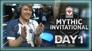 Mythic Invitational Day 1 - Savjz MTG: Arena