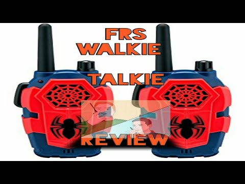 FRS WALKIE TALKIE REVIEW