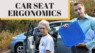 Make Your Car Seat More Comfortable And Stop Back Pain While Driving (Car Seat Ergonomics 101) (WBW)