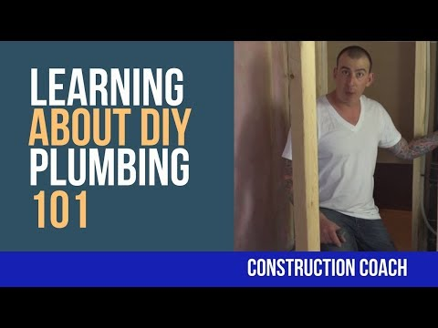 Plumbing 101 – Learning about DIY plumbing with Coach Tim