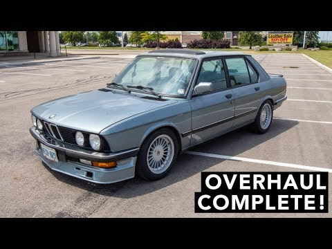 BMW E28 Overhaul - How Does It Drive?