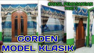 preview picture of video 'Pemasangan Gorden Rumah (model gorden klasik mewah)'