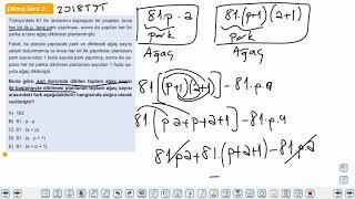 Eğitim Vadisi TYT Matematik 18.Föy Sayı Problemleri Soru Çözümü 1 Konu Anlatım Videoları