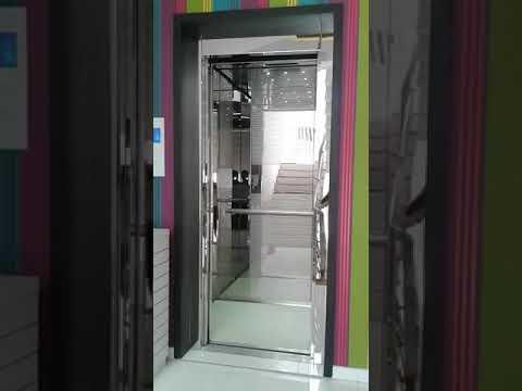 MRL Gearless Glass Elevator