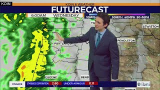 Weather Forecast: Turning rainy by Wednesday morning for the Pacific Northwest