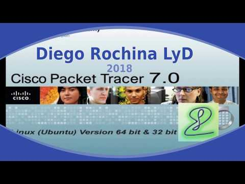 Packet Tracer 7  Simulador de Redes  2018  Cisco - DMR LyD 2018