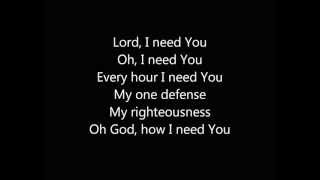 Lord, I Need You (instrumental track)