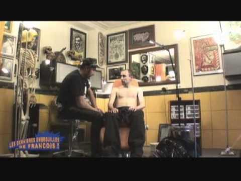 Vidéos - Le tatoueur - Caméra cachée de François Damiens aka François L'embrouille