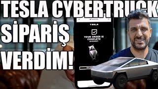 Tesla Cybertruck Sipariş Verdim