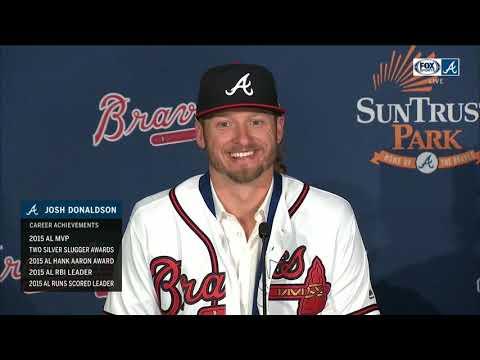 Josh Donaldson signs 1-year deal with Atlanta Braves