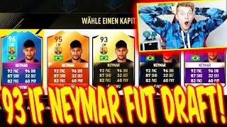 FIFA 17  OMG 93 IF NEYMAR In FUT DRAFT 😜😜  ULTIMATE TEAM DEUTSCH