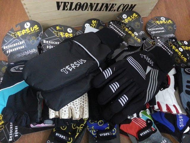 Видео Велосипедные перчатки Tersus JIM black-neon-yellow