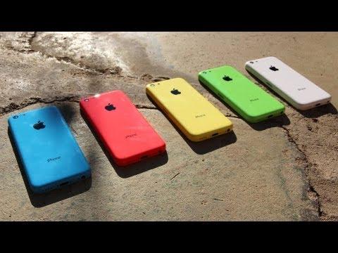 El iPhone 5C, el móvil «low cost» de Apple, aparece en nuevas imágenes en vídeo