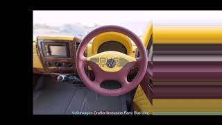 Volkswagen Crafter limousine Party Bus long