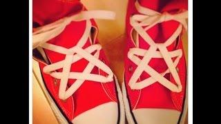 靴ひもを「☆」にしちゃうのが流行っててかわいい♡~Shoelace Star Lacing~