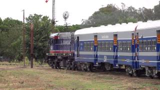 preview picture of video 'ALCO 654 saliendo de empalme Lobos (03-11-2014)'