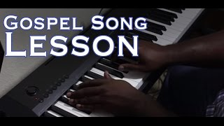 Gospel Song Tutorial: God is God and He Won't Change