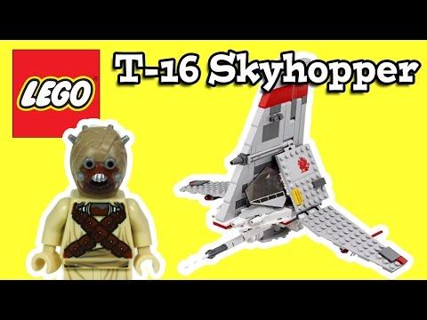 LEGO T-16 Skyhopper Star Wars Review 75081