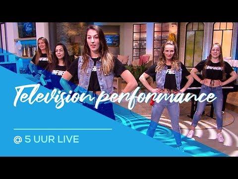 5 Uur live - RTL4 -  Taki Taki - Dura - Sin Pijama - Live Television Dance Video видео