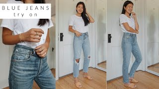 BEST DENIM | TRYING ON 21 PAIRS OF JEANS + STYLING THEM
