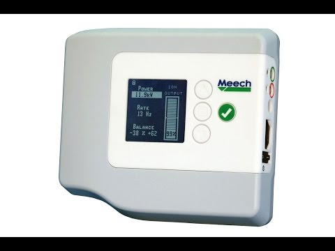 Video of pulsed dc current monitoring from Meech