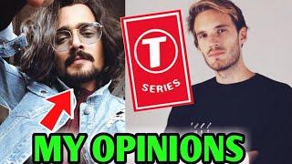 BB Ki Vines Talks About PewDiePie Vs T-Series Drama - His Opinions   Markiplier Saves PewDiePie!  