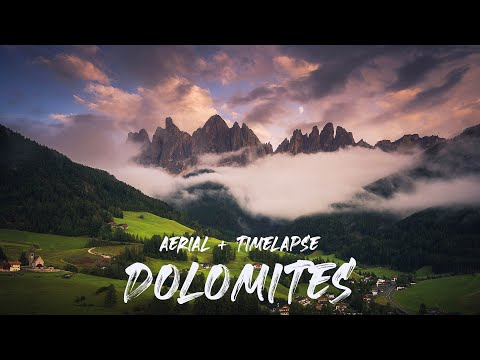 View the Italian Dolomites in Crisp 4K