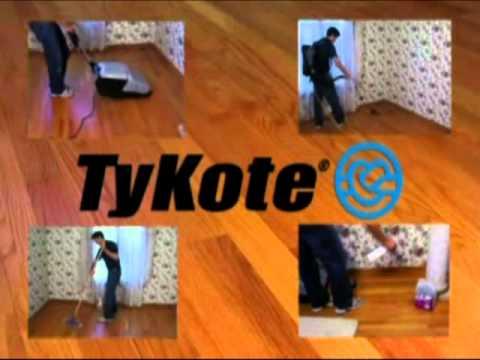 4 Hour Wood Floors - Basic Coatings Dustless TyKote Re-coating Process