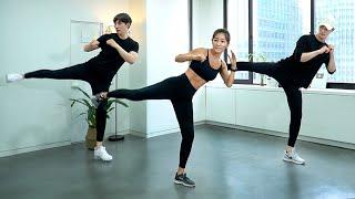 E.1 30m Home KICK BOXING🥊 Workout! | 집에서 하는 유산소 최고 킥복싱 30분 홈트!
