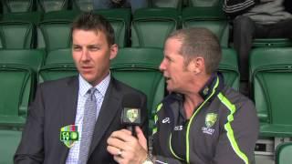 Cricket insight with Brett Lee, MCG