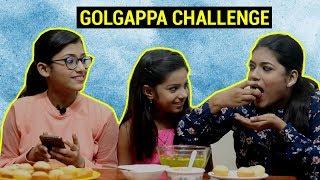 GOLGAPPA CHALLENGE | SAMREEN ALI