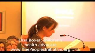 Maine hearings, Elisa Boxer, children's health.mov