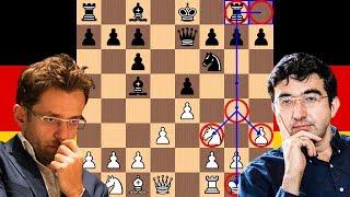 A Brutal Berlin | Levon Aronian vs Vladimir Kramnik | 2018 Candidates Chess Tournament