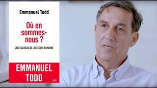 Emmanuel Todd, systèmes familiaux, éducation et démocratie