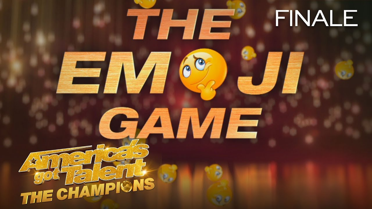 LOL! The Judges Have A Hard Time With This Emoji Game! - America's Got Talent: The Champions thumbnail