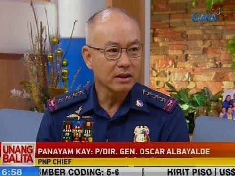 [GMA]  UB: Panayam kay PNP Chief P/Dir. Gen. Oscar Albayalde