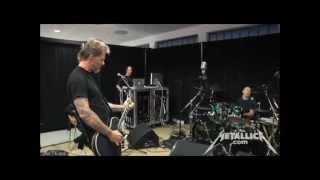 Metallica - The Call Of Ktulu In The Tuning Room [Nurnberg June 1, 2012] HD