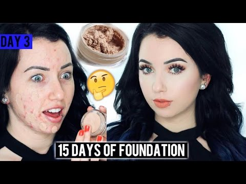 MAYBELLINE DREAM MATTE MOUSSE FOUNDATION {First Impression Review & Demo!} 15 DAYS OF FOUNDATION