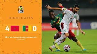 CHAN 2020 | Demi-Finale : Maroc 4-0 Cameroun