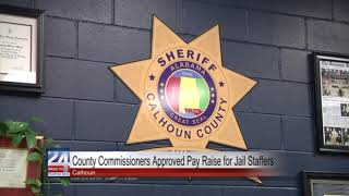 County Commissioners Approve Pay Raise for Jailers
