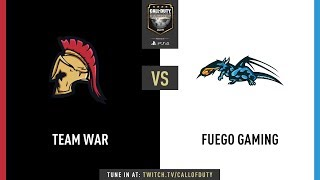 Team War vs Fuego Gaming   CWL Champs 2019   Day 2