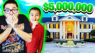 WE FOUND OUR DREAM HOME IN LA!! ($5,000,000 MANSION HOUSE TOUR!!) **REZ FAMILY IS MOVING?**