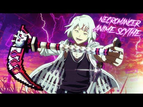 Necromancer Anime Scythe - Pixel Gun 3D New Skin