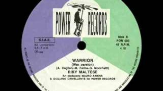 RIKY MALTESE - WARRIOR (NICE VERSION) (℗1986)